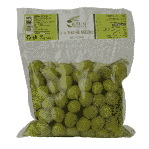 Green Olives for Aperitifs